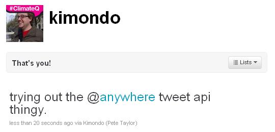 Add branding to a tweet
