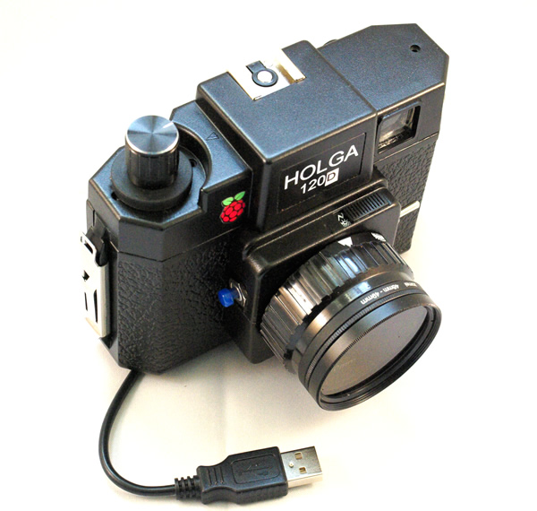 Holga 120d Raspberry Pi Camera Case